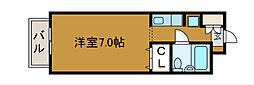 パルケ新百合丘[2階]の間取り