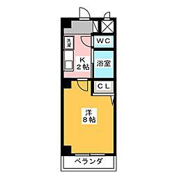 ボナール佐藤[2階]の間取り