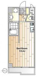 洗足ガーデン[1階]の間取り