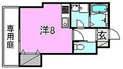 HYO−DORU[101 号室号室]の間取り