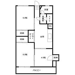 セゾン・セイ[3階]の間取り