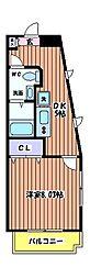 ドートワールジュネス[2階]の間取り