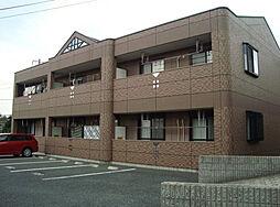 愛知県名古屋市緑区桶狭間神明の賃貸アパートの外観