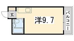 マイコーポ白国[301号室]の間取り