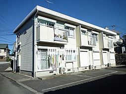 タウンハウス美里D[2階]の外観