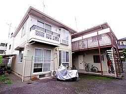 東京都東村山市野口町3丁目の賃貸アパートの外観
