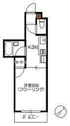 N4三宅[101号室]の間取り