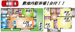 [一戸建] 兵庫県神戸市灘区六甲台町 の賃貸【/】の間取り