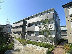 埼玉県越谷市レイクタウン9丁目の賃貸アパートの外観