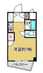 PLEAST飯倉[1階]の間取り
