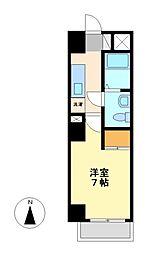 カーサ(CASA)八番館[5階]の間取り