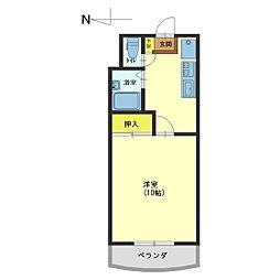 PLAZA古沢II番館[5階]の間取り