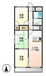 LONE STAR茶屋ヶ坂[1階]の間取り
