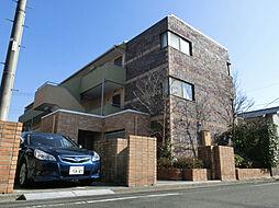東京都日野市石田2丁目の賃貸マンションの外観