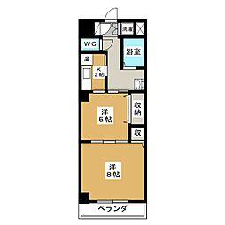 パークウォーク京都東山[2階]の間取り