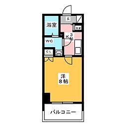 グランフォーレ平尾[8階]の間取り