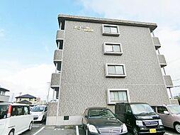 静岡県富士市松岡の賃貸マンションの外観