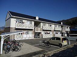広島県広島市東区戸坂大上3丁目の賃貸アパートの外観