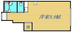 セストベル[1階]の間取り