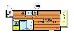 東京都練馬区関町南2丁目の賃貸マンションの間取り