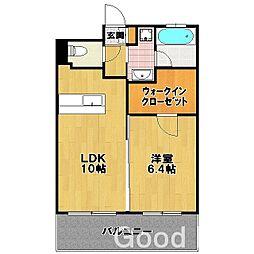 パークサイド スクエア II[6階]の間取り