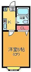 リヴェール亀有[2階]の間取り
