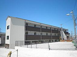 大阪府堺市西区鳳南町3丁の賃貸マンションの外観