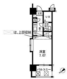 マークスプリングスタワー東京[601号室]の間取り