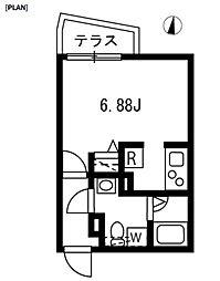 新築 ブランシェ哲学堂公園[103号室号室]の間取り