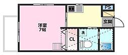 メゾン・ド・ソフィア[2階]の間取り