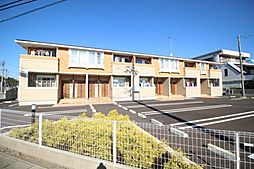 栃木県鹿沼市茂呂の賃貸アパートの外観