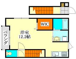 谷津高台の家[2階]の間取り