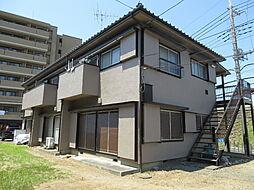 飯草ハイツB[1階]の外観