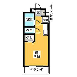 関口マンション[3階]の間取り