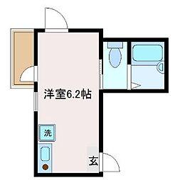 東京都葛飾区奥戸2丁目の賃貸アパートの間取り