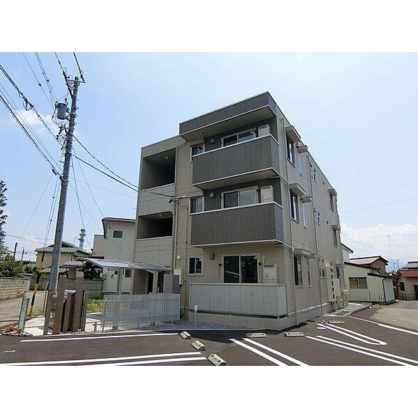 ライトグリーン鶴賀 3階の賃貸【長野県 / 長野市】