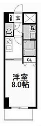 ノーブルコート堺筋本町[8階]の間取り