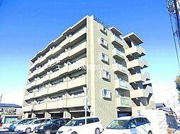 岡山県岡山市北区野田4丁目の賃貸マンションの外観