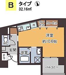 プリ—ゼ池田栄本町[7階]の間取り