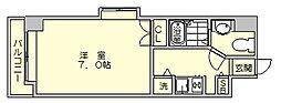 サヴォイステーション[4階]の間取り