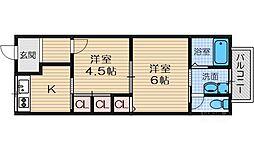 クレッシェンド2[1階]の間取り
