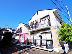 埼玉県朝霞市浜崎4丁目の賃貸アパートの外観