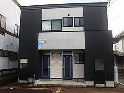 秋田県大仙市高梨字沼田の賃貸アパートの外観