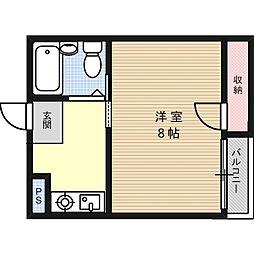 プレアール昭和台[2階]の間取り
