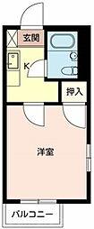 コーポ01[2階]の間取り