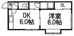 プロスパーR36[106号室]の間取り