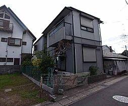 京都府京田辺市三山木南山の賃貸アパートの外観