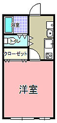 VISTA上水戸[5階]の間取り