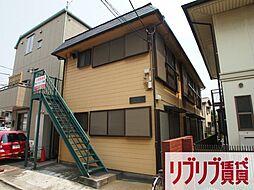 千葉県千葉市中央区神明町の賃貸アパートの外観