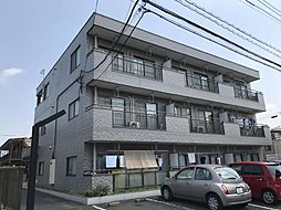埼玉県越谷市南越谷5丁目の賃貸マンションの外観